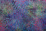 """Handgefärbte Batik aus Indonesien """"Points"""" COL 14, 100% Baumwolle 001"""