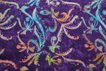 """Handgefärbte Batik aus Indonesien """"Flower Power"""" COL D, 100% Baumwolle 001"""