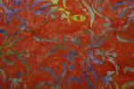 """Handgefärbte Batik aus Indonesien """"Flower Power"""" COL E, 100% Baumwolle 001"""