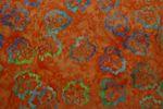 "Handgefärbte Batik aus Indonesien ""Birch Leaves"" COL C, 100% Baumwolle 001"