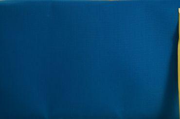 """Original Shweshwe Baumwollstoff """"Turquoise"""" türkis, in 90cm Breite – Bild 1"""