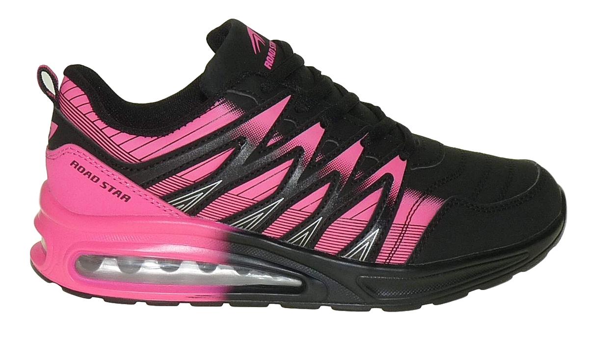 Details zu art 972 Neon Luftpolster Turnschuhe Schuhe Sneaker Sportschuhe Neu Damen