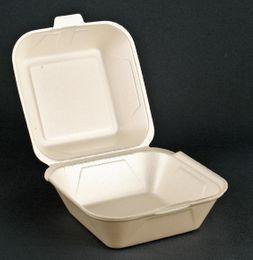 250 Hamburgerboxen groß, champ., 14,5 x 13,3 x 7,5 cm