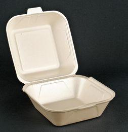 500 Hamburgerboxen groß, champ., 14,5 x 13,3 x 7,5 cm