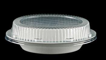 """100 Salatschalen """"B3"""" mit Deckel, rund, weiß, 750 ml"""