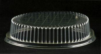 """600 Deckel f. Salatschale """"B2"""" rund, transparent, 400ml"""