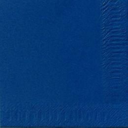 1000 DUNI Servietten, dunkelblau, 3-lag., 33x33 cm, 1/4