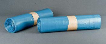 Müllsäcke 120 ltr. Typ70, blau, 70x110cm 20Rll. á 25St.