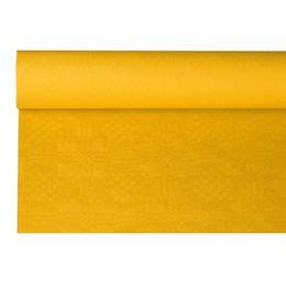 1 Papier-Tischdeckenrolle, gelb, 120 cm x 8 m, 18596