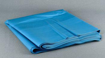 50 Müllsäcke 240 ltr. Typ100 blau, 65+55x135cm