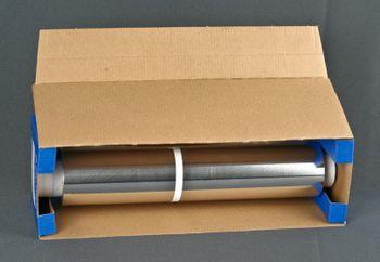 6 Rollen Aluminiumfolie 45cm x 150m, 14my, mit Box