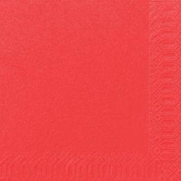 1000 DUNI Servietten, mandarin, 3-lag., 33x33 cm, 1/4