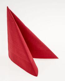 50 Duni Klassik-Servietten, rot, 40x40cm, 154674