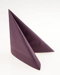 50 Duni Klassik-Servietten, plum, 40x40cm, 165562