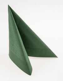 50 Duni Klassik-Servietten, jägergrün, 40x40cm, 154673