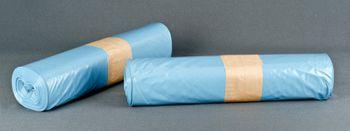 Müllsäcke 160 ltr. Typ100 blau, 90x110cm 10Rll. á 25St.