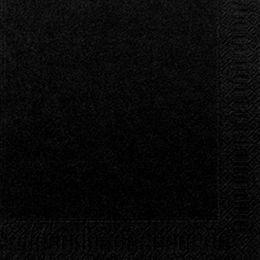 1000 Duni Servietten, schwarz, 3-lag., 40x40 cm, 1/4 Falz, 156921