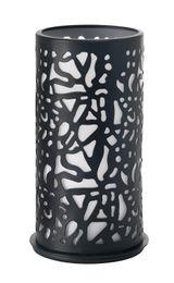 1 Duni Kerzenhalter Twist, schwarz, Metall, 186424