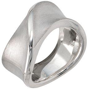 Breiter Ring Silberring aus 925 Silber Echtsilber