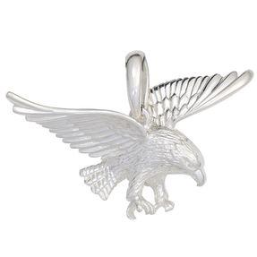Anhänger Adler aus 925 Echt Silber Sterlingsilber, Silberanhänger