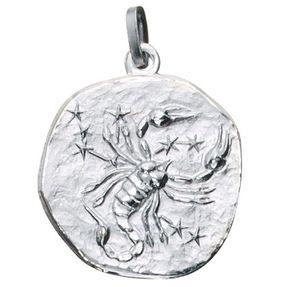 Sternzeichen Skorpion - Anhänger aus 925 Echt Silber Sterlingsilber