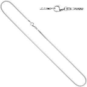 1,2mm Venezianerkette Kette Collier, 925 Silber, Silberkette, 42 cm