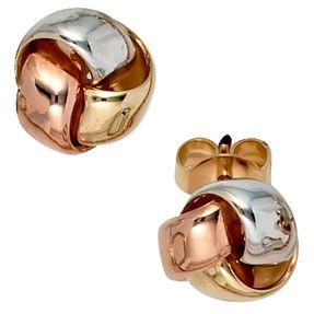 Ohrstecker Ohrringe Ohrschmuck 585 Gold Gelbgold Weißgold Rotgold
