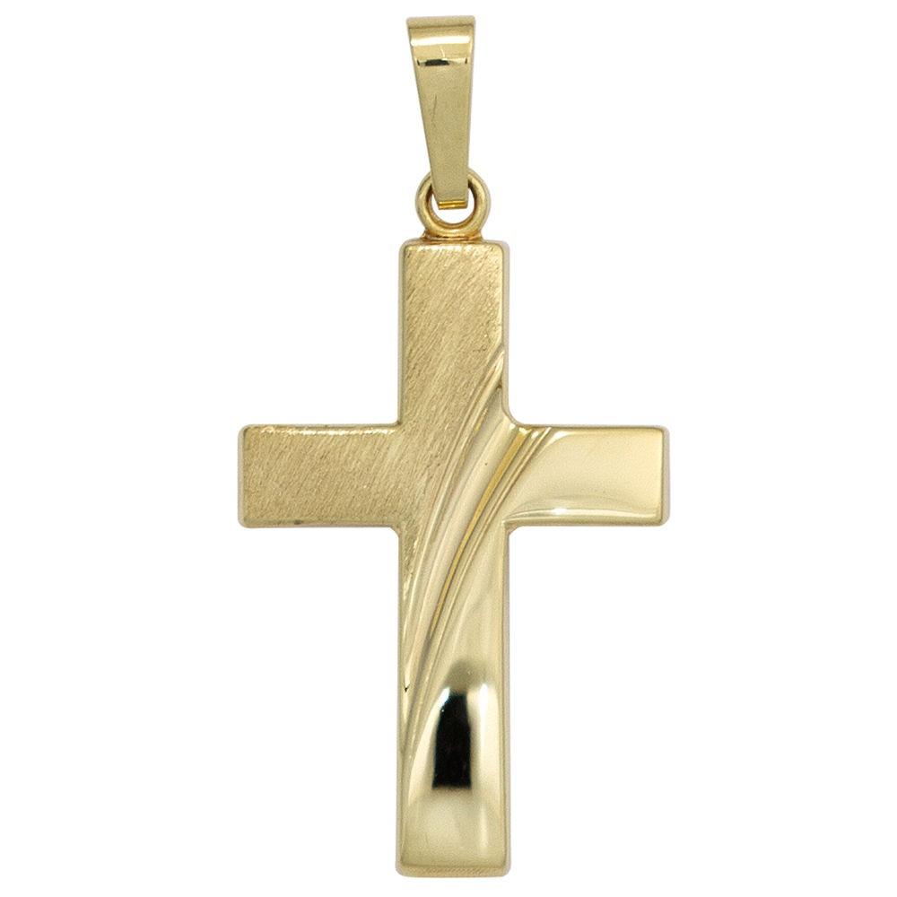 """*NEU* Halskette /""""Streifen-Kreuz/"""" Edelstahl"""