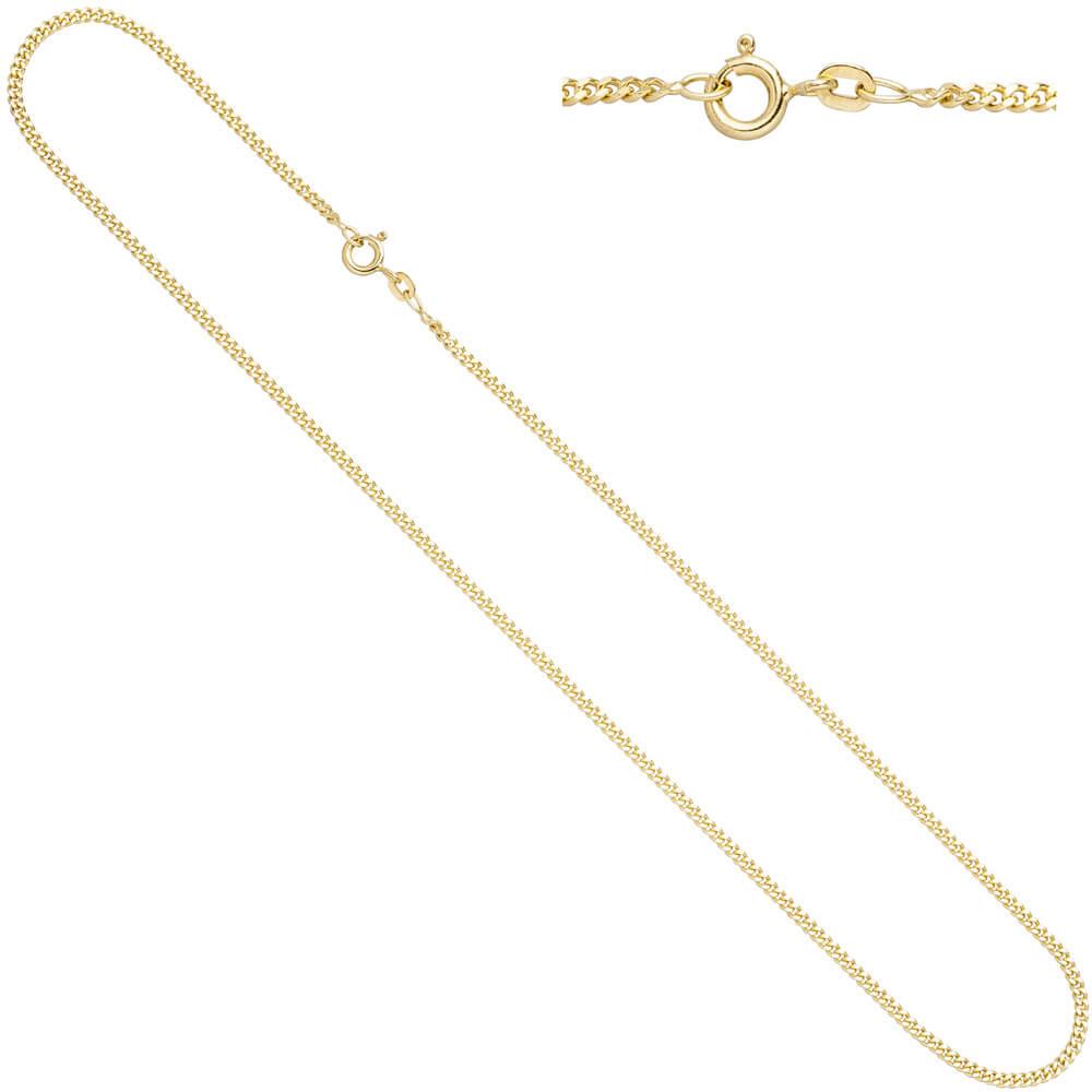 2 1mm panzerkette halskette collier goldkette 333 gelbgold gold 60cm. Black Bedroom Furniture Sets. Home Design Ideas