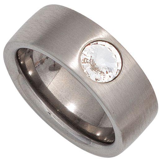 Ring-mit-Swarovski-Element-Edelstahl