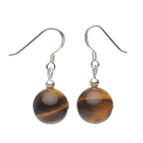 Ohrringe-aus-Tigerauge-und-925-Silber