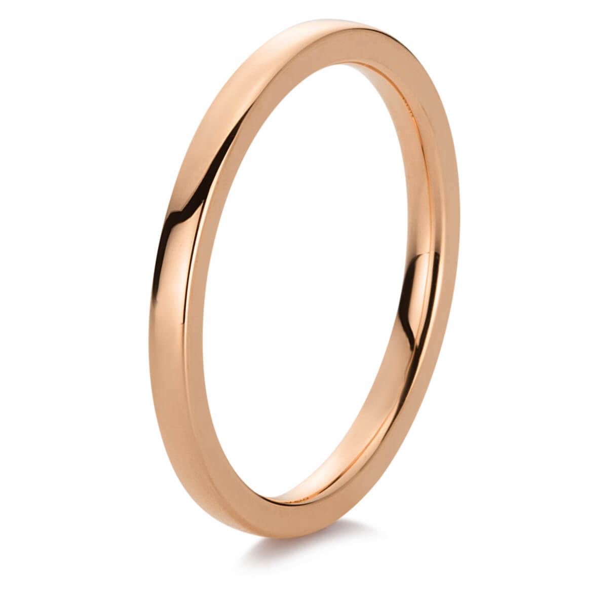 Ring Damenring Fingerring Kügelchen Breite 2,2mm 585 Gold Rotgold Goldring