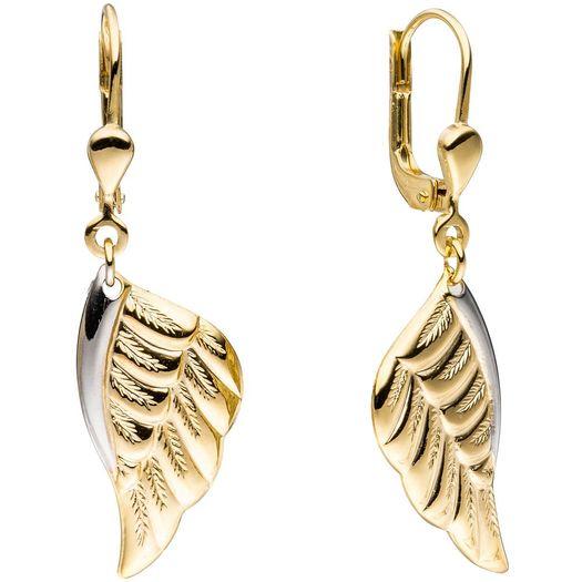 Ohrhänger-Engelsflügel-aus-333-Gelbgold