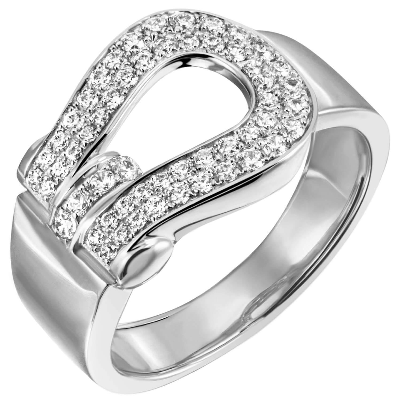 925 Silber rhodiniert Silberring Breiter Ring Damenring mit Zirkonia weiß