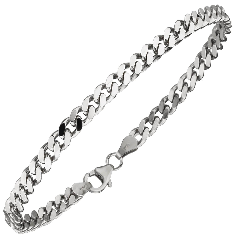 Armband Silber Schwarz Damen Armschmuck von NOBEL SCHMUCK