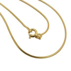 1mm-Schlangenkette-rund-585-Gelbgold-45cm