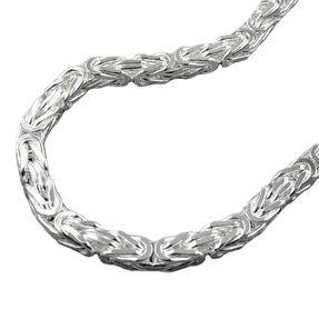 5x5mm-Armband-Königskette-Silber-925-19cm