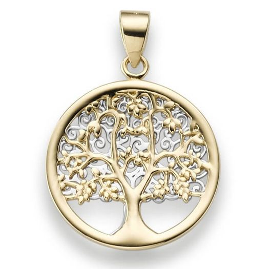 Anhänger-Lebensbaum-aus-585-Gold-gelb-weiß
