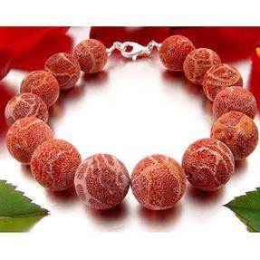 Armband-aus-Schaumkoralle-rot-orange