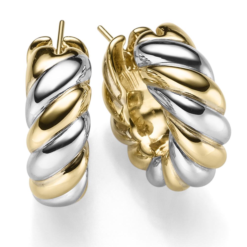 hoop earrings 0 1516in clip connector ear stud earring