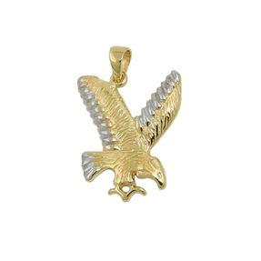 Anhänger-fliegender-Adler-aus-375-Gelbgold