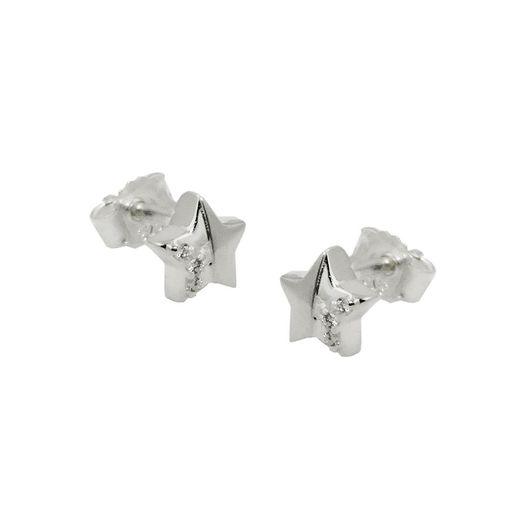 Ohrstecker-Sterne-mit-5-Spitzen-925-Silber