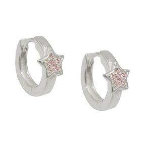 Creolen-Sterne-mit-pink-Zirkonia-925-Silber