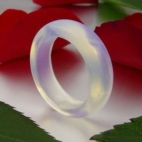 Opalit-Mondstein-Ring-glatt