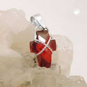 Anhänger-Kreuz-rote-Zirkonia-925-Silber