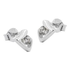 Ohrstecker-Dreieck-mit-Zirkonia-weiß-925-Silber