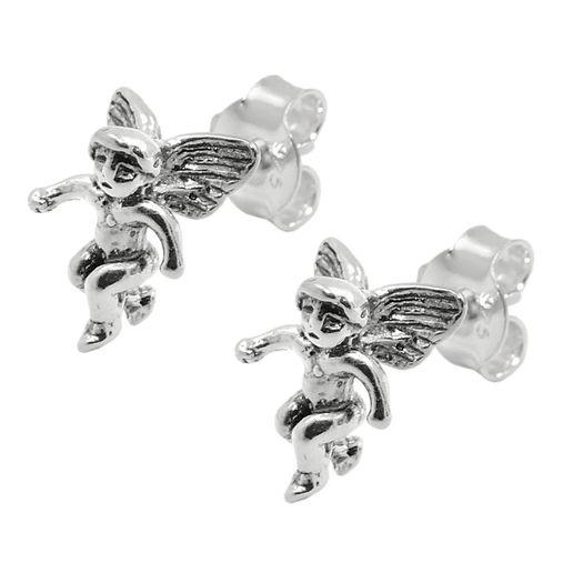 Ohrstecker-Engel-aus-925-Silber-geschwärzt