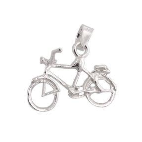 Anhänger-Fahrrad-aus-925-Silber