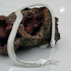 6x2mm-Schlangenkette-Kette-925-Silber-50cm