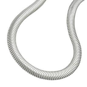 6x2mm-Schlangenkette-Collier-flach-925-Silber-42cm